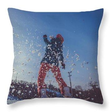 Jumping Throw Pillows