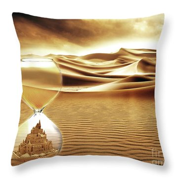 Give It Time Throw Pillow