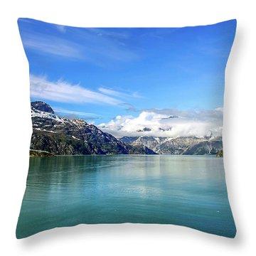 Glacier Bay 1 Throw Pillow