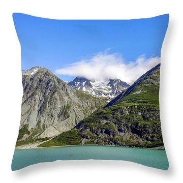 Glacier Bay 2 Throw Pillow