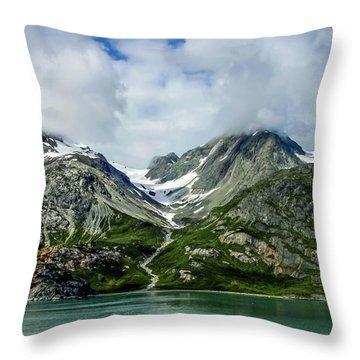 Glacier Bay 3 Throw Pillow