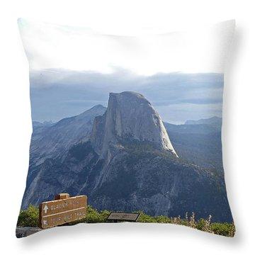 Glacier Point Throw Pillow