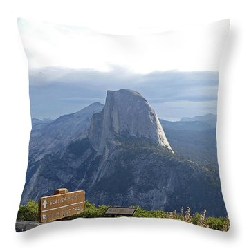 Glacier Point Throw Pillow