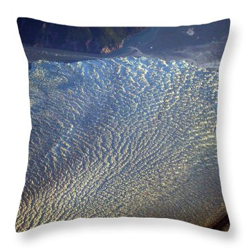 Glacier Texture Throw Pillow