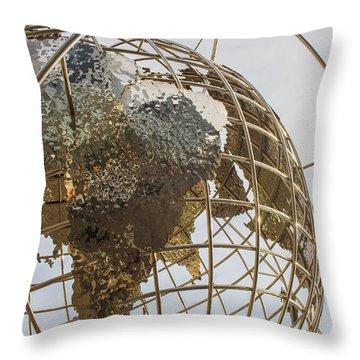 Globe 1 Throw Pillow