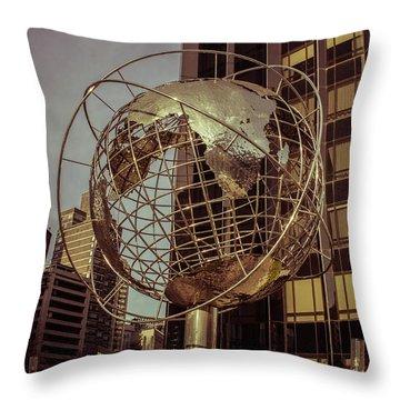 Globe 2 Throw Pillow