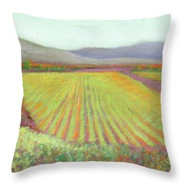 Gloria Ferrer Winery Throw Pillow