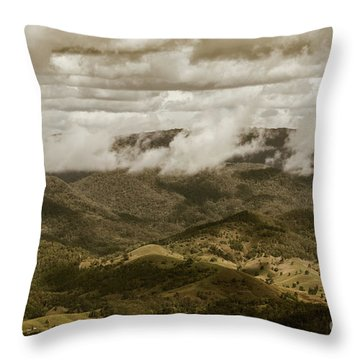 Glorious Cloud Cover Throw Pillow
