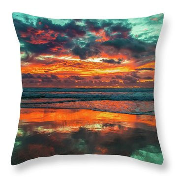 Glowing With Gratitude  Throw Pillow
