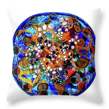 Go With The Flow 1 Throw Pillow