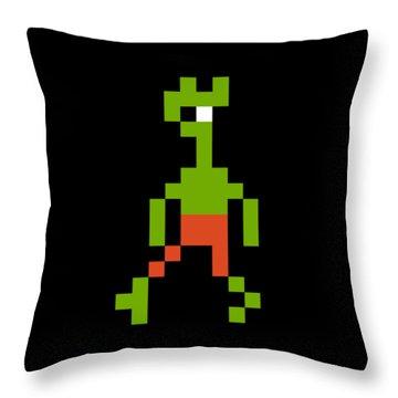 Throw Pillow featuring the digital art Goblin 002 by Bfm