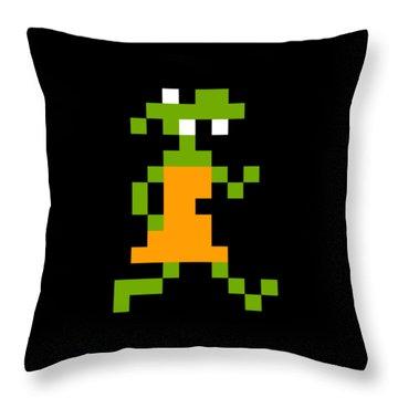 Throw Pillow featuring the digital art Goblin 003 Sprite by Bfm