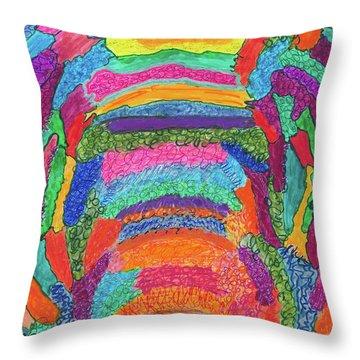 God Is Color - The Original Throw Pillow