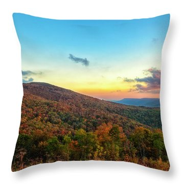 Throw Pillow featuring the photograph God's Canvas by Russell Pugh