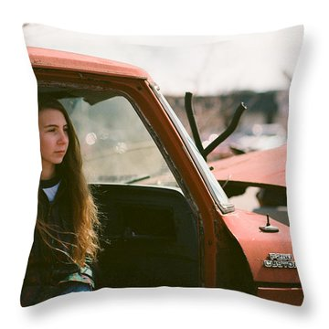 Throw Pillow featuring the photograph Going Nowhere by Carl Young