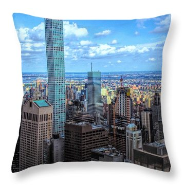 Going Out Of Sight Throw Pillow