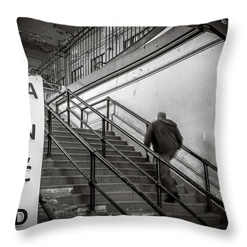 Throw Pillow featuring the photograph Going Up by Steve Stanger