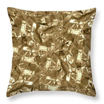 Gold Best Gift  Throw Pillow