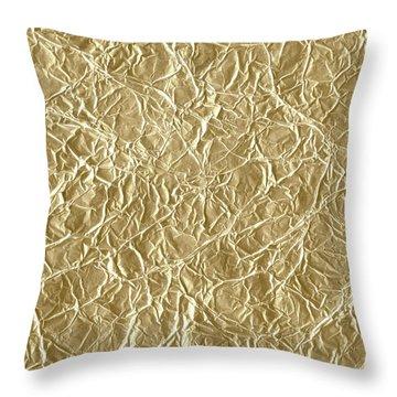 Gold Cute Gift Throw Pillow