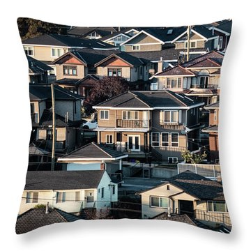 Golde Hour At Home Throw Pillow