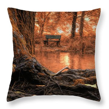 Golden Creek Vision Throw Pillow