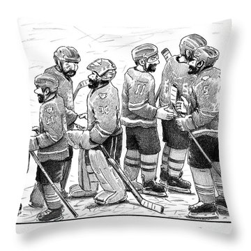 Good Beard Nice Beard Throw Pillow