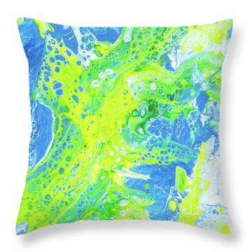 Good Day In Maui Throw Pillow