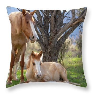 Good Mama Throw Pillow