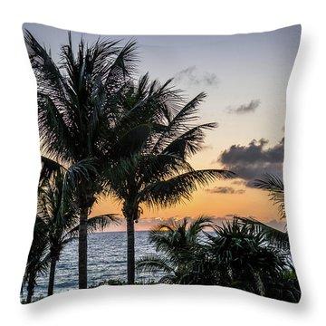 Good Morning, Sun Throw Pillow