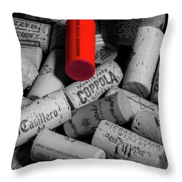 Good Times With Good Friends Throw Pillow