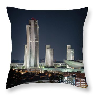 Goodnight Albany Throw Pillow
