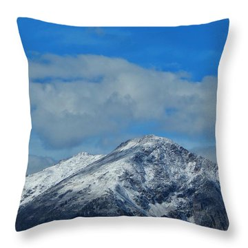 Throw Pillow featuring the photograph Gore Range Mountains by Lukas Miller