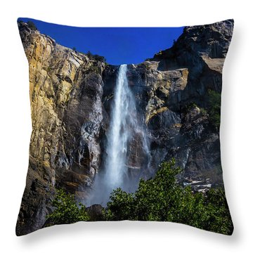 Gorgeous Bridalveil Fall Throw Pillow