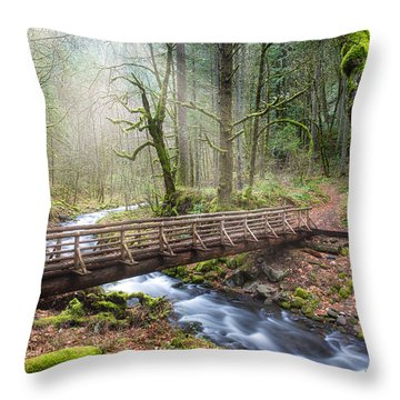 Gorton Creek Throw Pillow