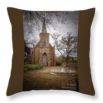 Gothic Revival Church  Throw Pillow
