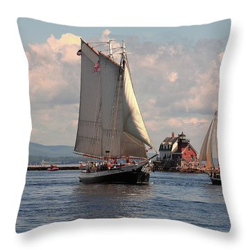 Grace Bailey Throw Pillow