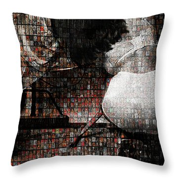 Grace Irons 40 Years Throw Pillow