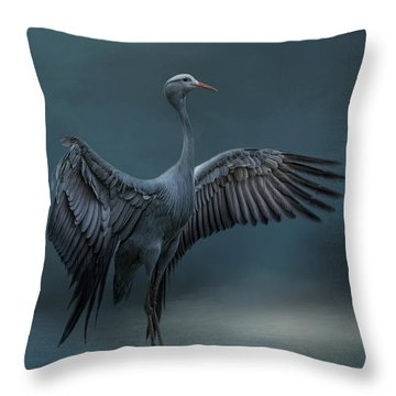 Graceful Dancer Throw Pillow