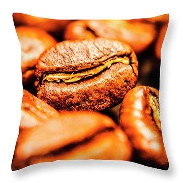 Grainy Throw Pillow