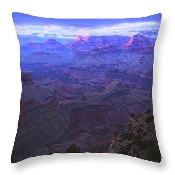 Grand Canyon Twilight Throw Pillow