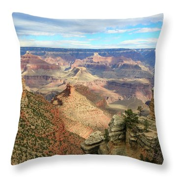 Grand Canyon View 3 Throw Pillow