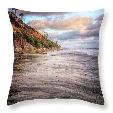 Grandview Cliffs Throw Pillow
