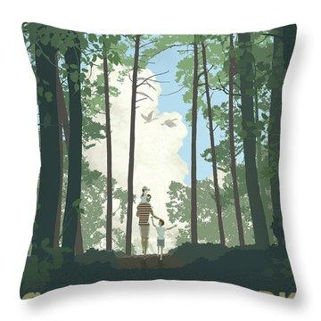 Grandview Park Throw Pillow