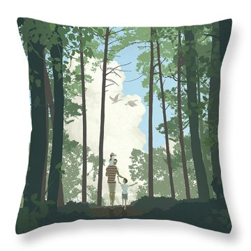 Grandview Park Throw Pillow