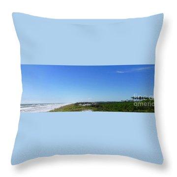 Grayton Beach State Park Throw Pillow