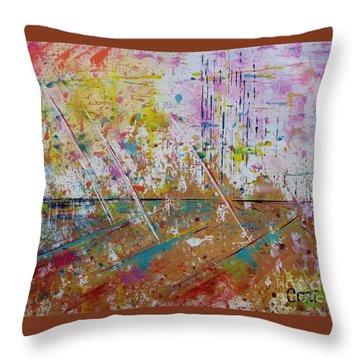 Horizons Calling Throw Pillow