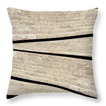 Greek Layers Throw Pillow