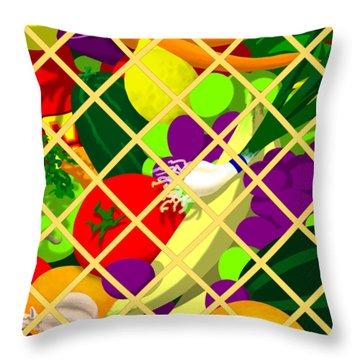 Greens 2 Pillow Throw Pillow