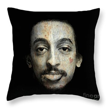 Gregory Hines Throw Pillow