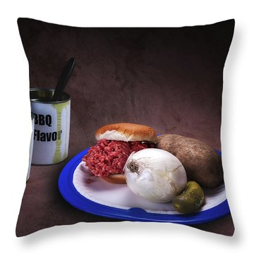Grill Ready Throw Pillow